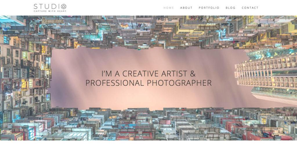Clean WordPress Photography Portfolio Theme Demo